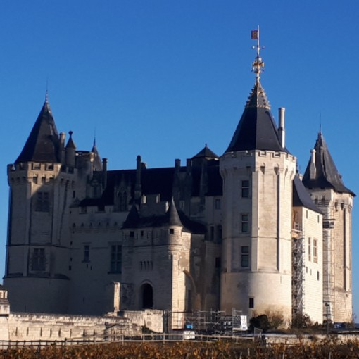magnifique château de saumur