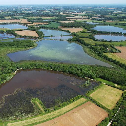 la dombes plateau aux 1000 étangs