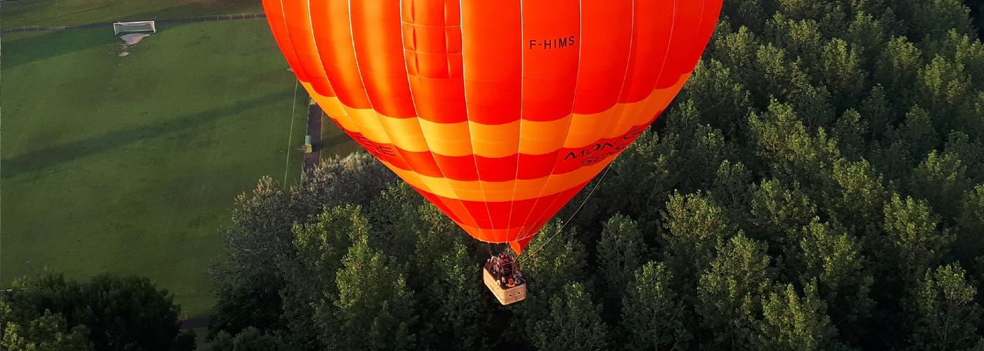 vol en montgolfière en Touraine