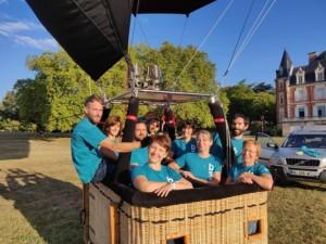 équipe ballons chaize à Annonay