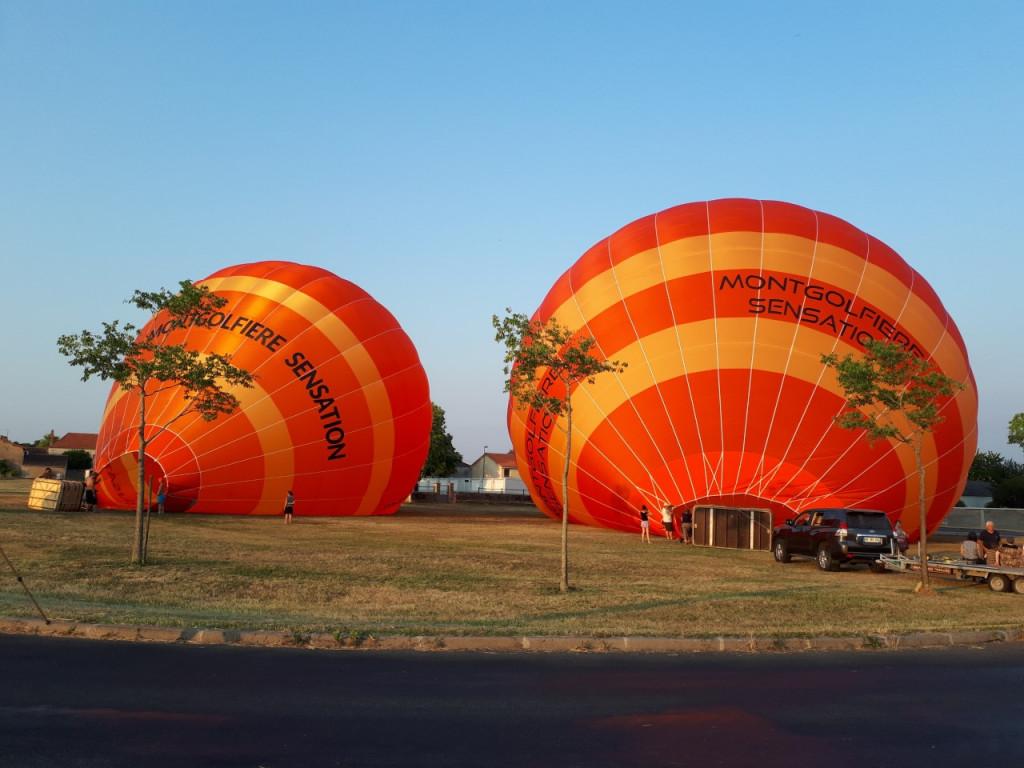 Gonflage des ballons
